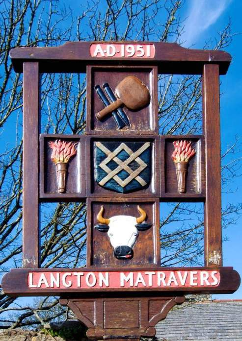 Langton Matravers sign